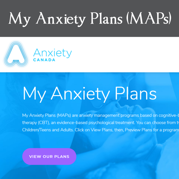 My Anxiety Plan